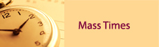 <p>All the mass time for all three churches can be viewed here</p>